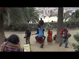 Mananers @ Parc Guell 16.12.11